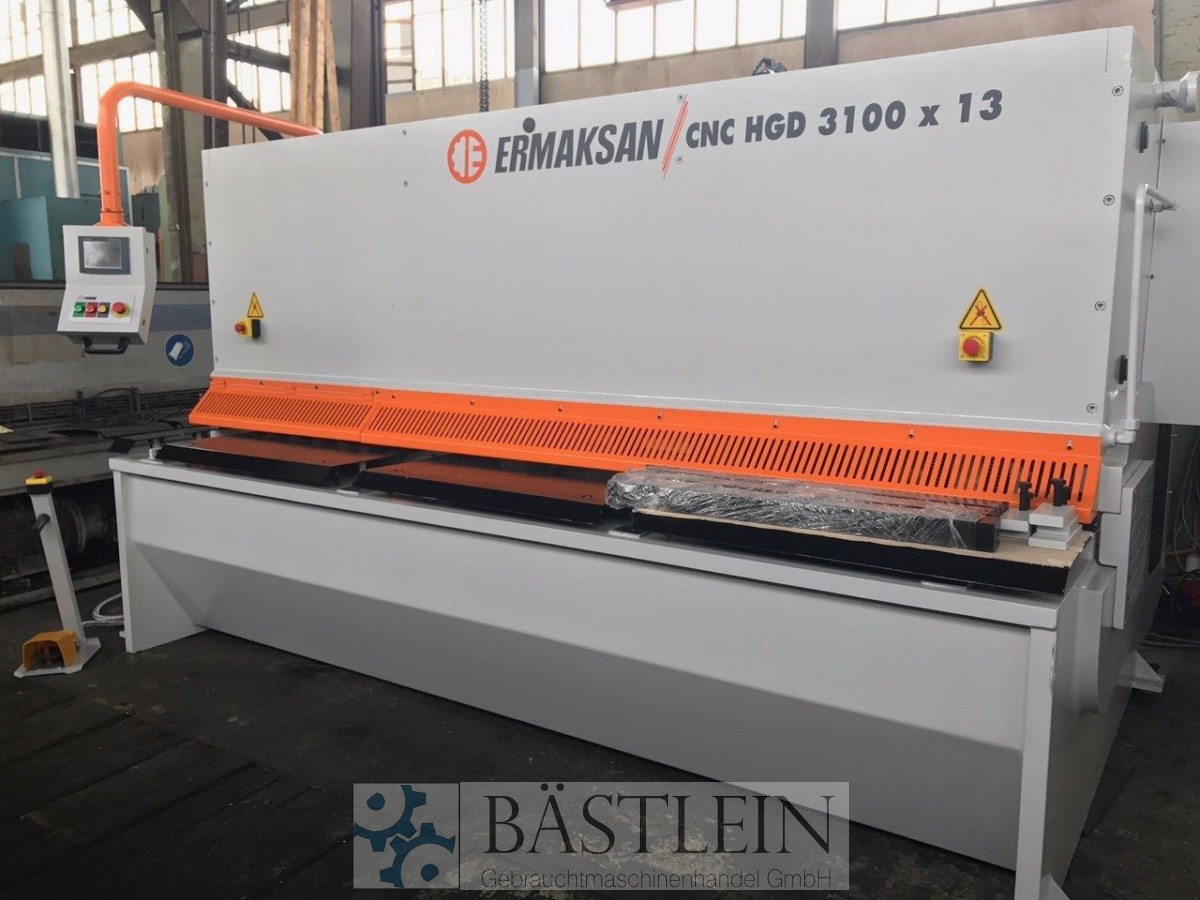 used Sheet metal working / shaeres / bending Plate Shear - Hydraulic ERMAK CNC HGD 3100x13