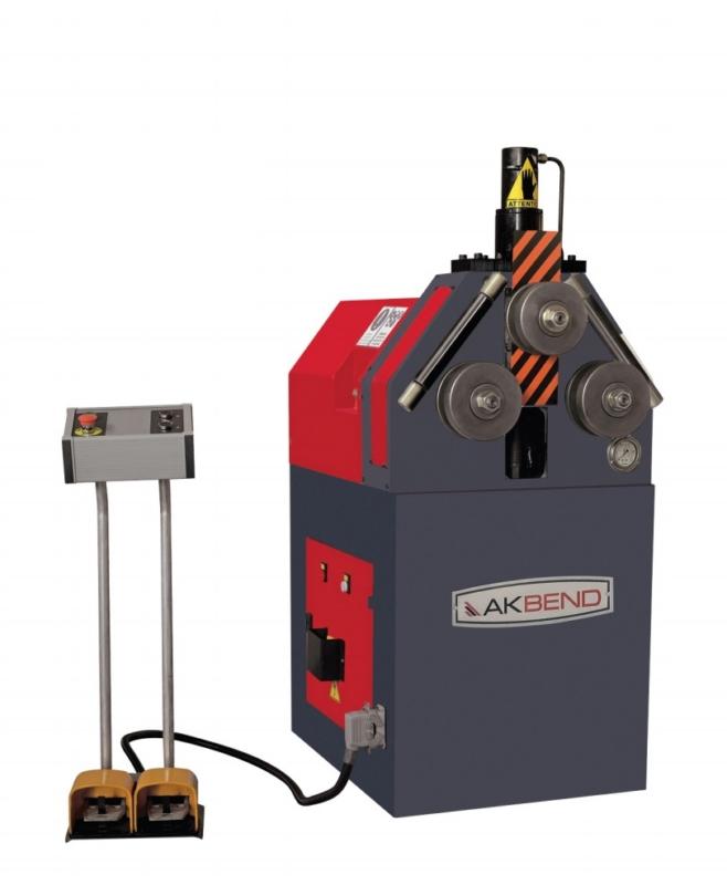 gebrauchte Blechbearbeitung / Scheren / Biegen / Richten Rohrbiegemaschine AK-BEND APK 45