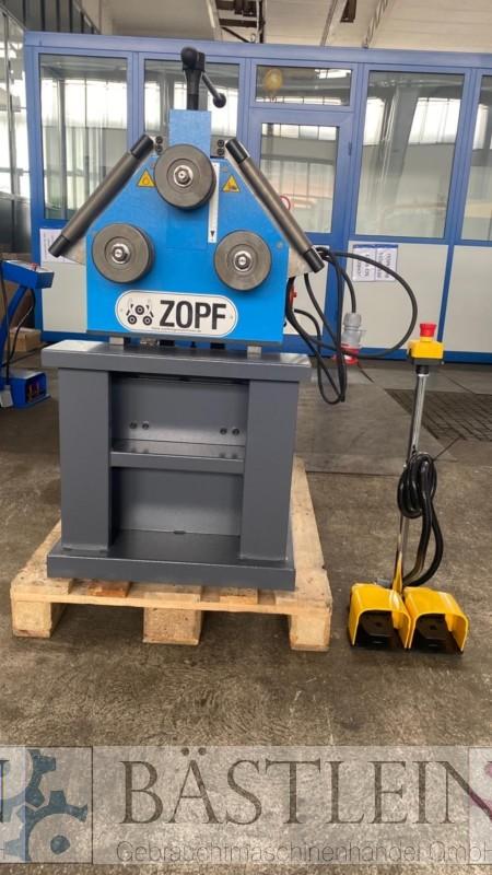 gebrauchte Blechbearbeitung / Scheren / Biegen / Richten Rohrbiegemaschine ZOPF ZB 60 M