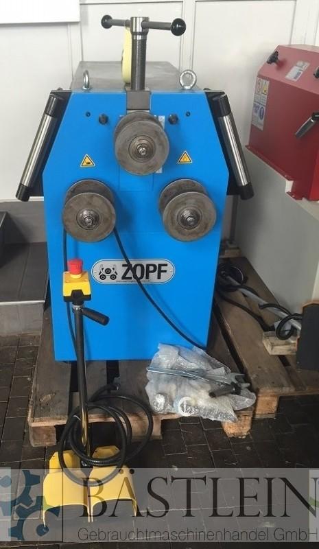 gebrauchte Blechbearbeitung / Scheren / Biegen / Richten Rohrbiegemaschine ZOPF ZB 70/2M