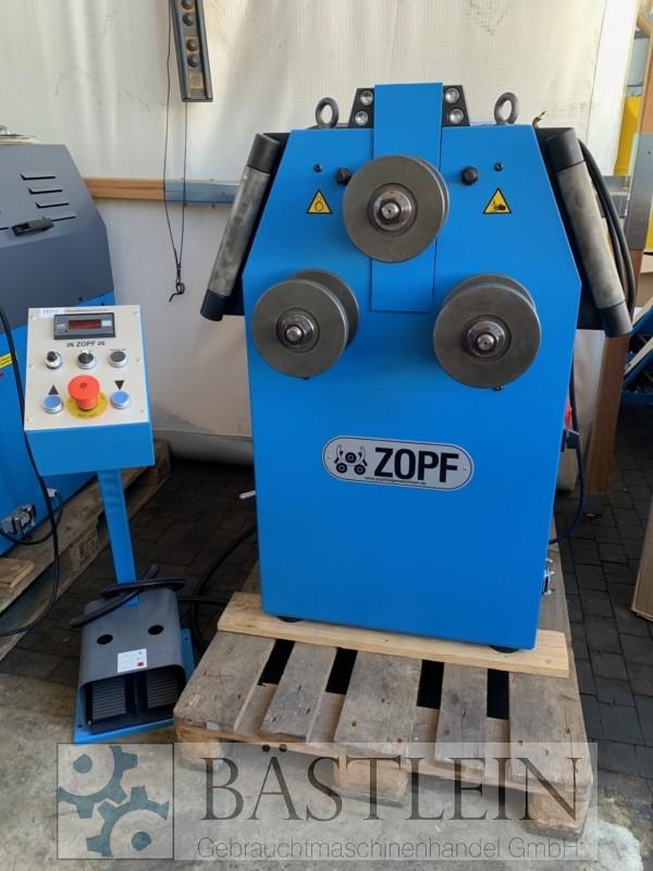 gebrauchte Blechbearbeitung / Scheren / Biegen / Richten Rohrbiegemaschine ZOPF ZB 70/3H ECO