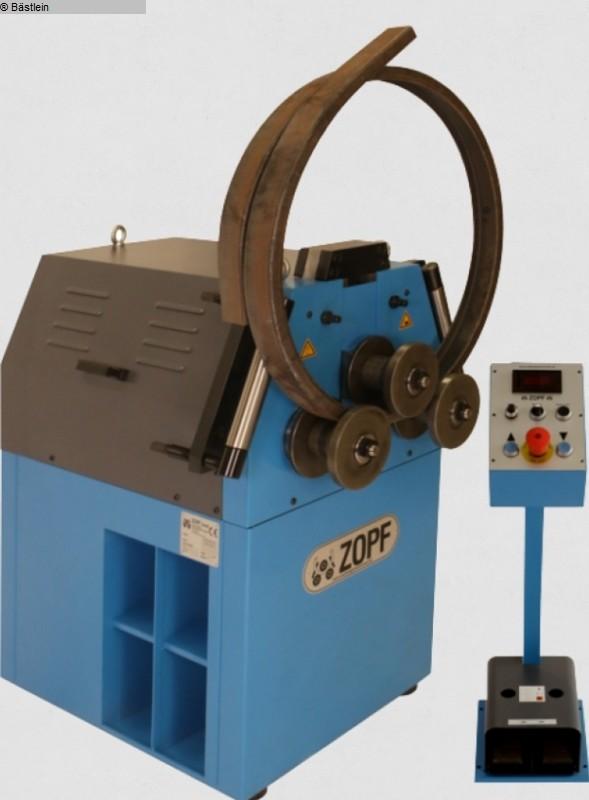 gebrauchte Blechbearbeitung / Scheren / Biegen / Richten Rohrbiegemaschine ZOPF ZB 70/2H