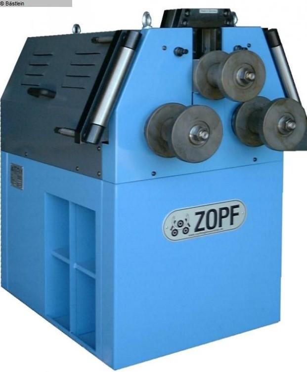 gebrauchte Blechbearbeitung / Scheren / Biegen / Richten Rohrbiegemaschine ZOPF ZB 80/3 H Eco