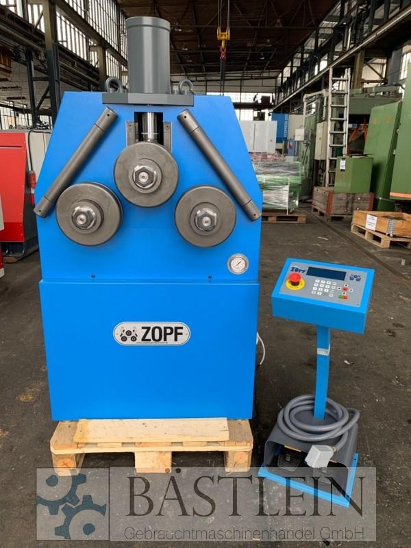 gebrauchte Blechbearbeitung / Scheren / Biegen / Richten Rohrbiegemaschine ZOPF ZB 100/2H