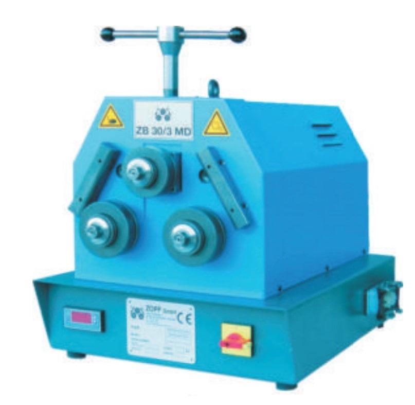 gebrauchte Blechbearbeitung / Scheren / Biegen / Richten Rohrbiegemaschine ZOPF ZB 30/3 MD