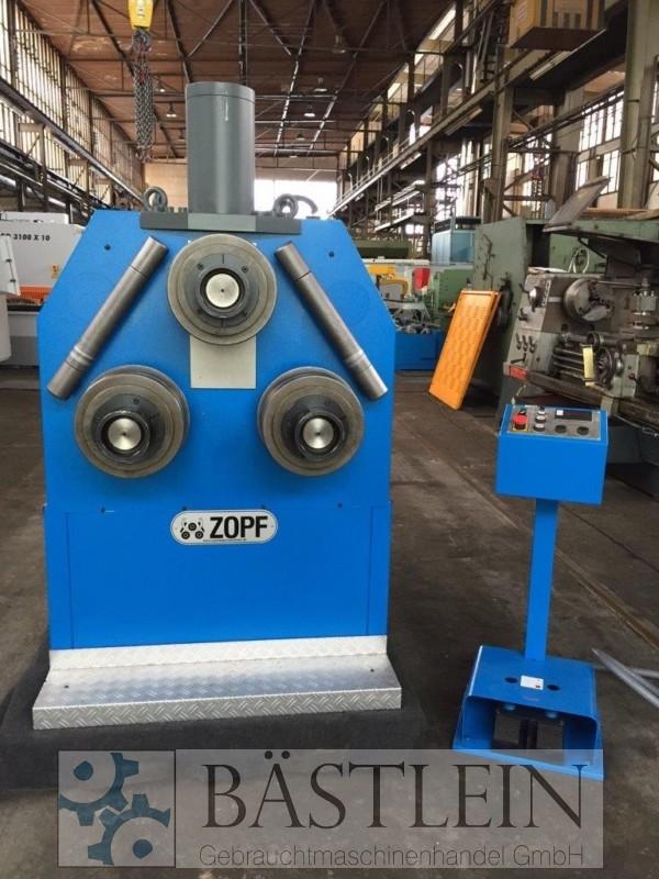 gebrauchte Blechbearbeitung / Scheren / Biegen / Richten Rohrbiegemaschine ZOPF ZB 110/3H