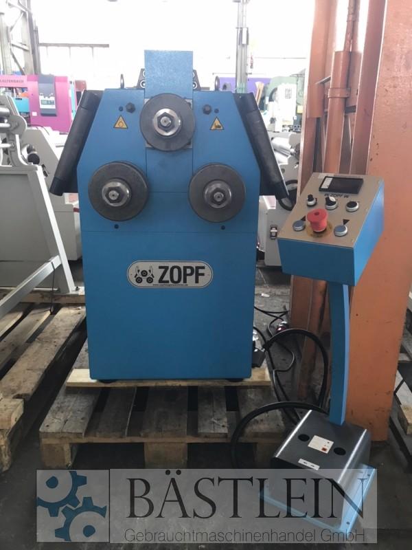 gebrauchte Blechbearbeitung / Scheren / Biegen / Richten Rohrbiegemaschine ZOPF ZB 80/2 H