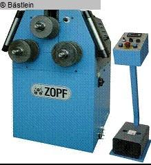 gebrauchte Blechbearbeitung / Scheren / Biegen / Richten Rohrbiegemaschine ZOPF ZB 70/3H