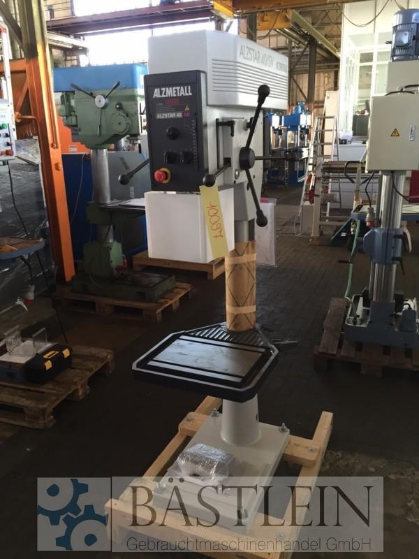 gebrauchte Bohrwerke / Bearbeitungszentren / Bohrmaschinen Säulenbohrmaschine ALZMETALL Alzstar 40/SV