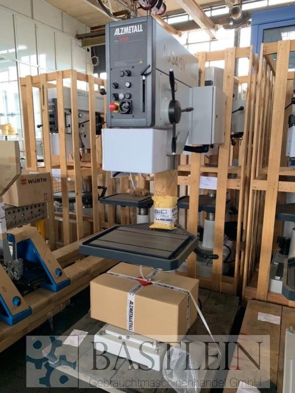 gebrauchte Bohrwerke / Bearbeitungszentren / Bohrmaschinen Säulenbohrmaschine ALZMETALL AB 34/SV