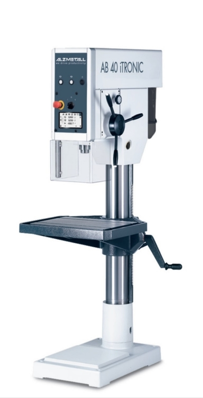 gebrauchte Bohrwerke / Bearbeitungszentren / Bohrmaschinen Säulenbohrmaschine ALZMETALL AB 40 iTRONIC