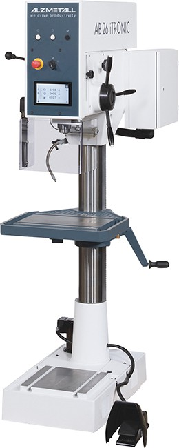 gebrauchte Bohrwerke / Bearbeitungszentren / Bohrmaschinen Säulenbohrmaschine ALZMETALL AB 26 iTRONIC