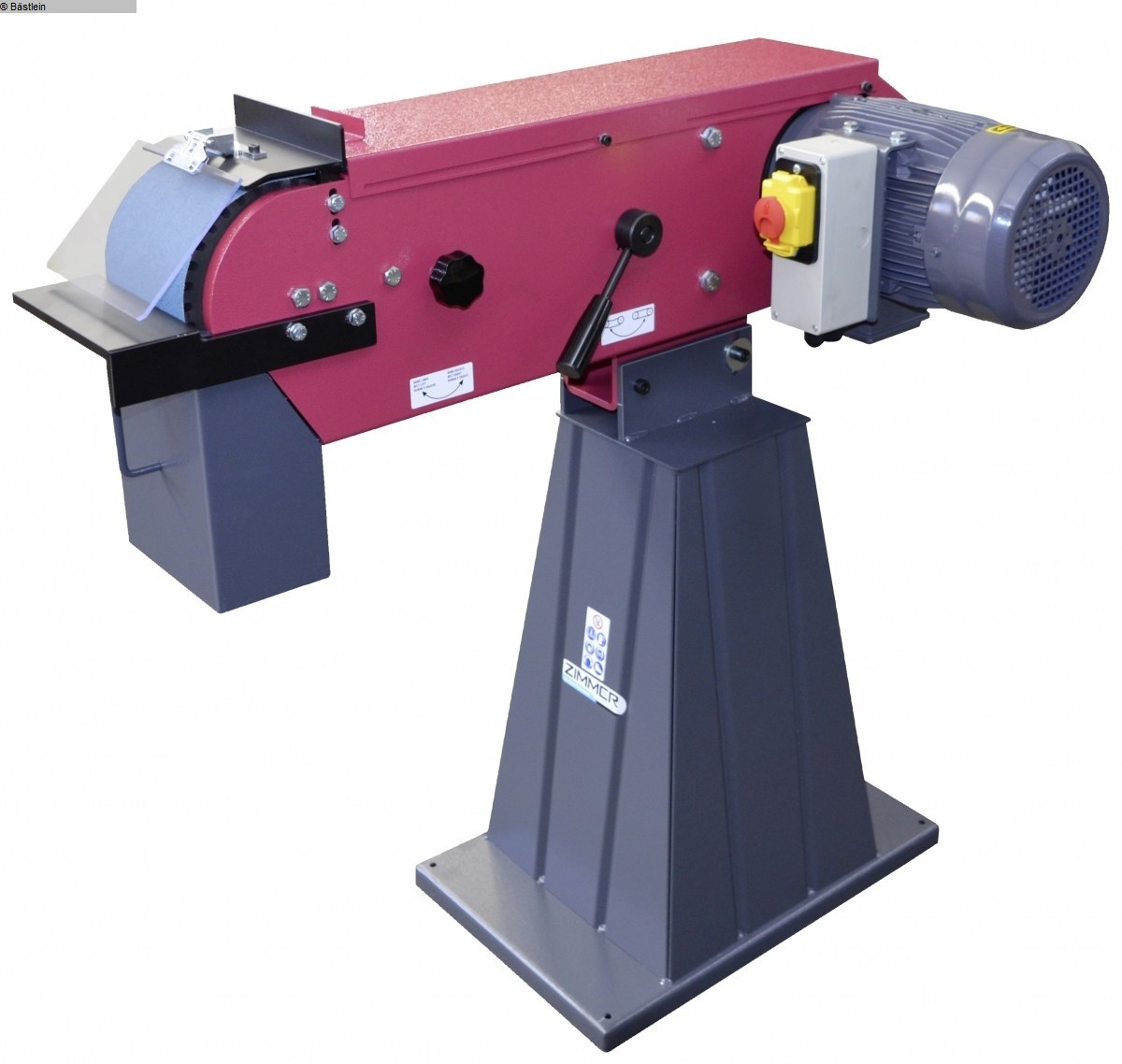 gebrauchte Schleifmaschinen Bandschleifmaschine ZIMMER Panther 150/1/3