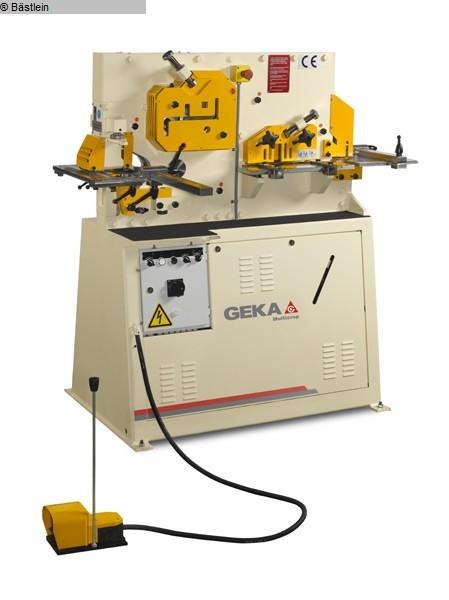 used Sheet metal working / shaeres / bending Section Steel Shear GEKA Multicrop 45