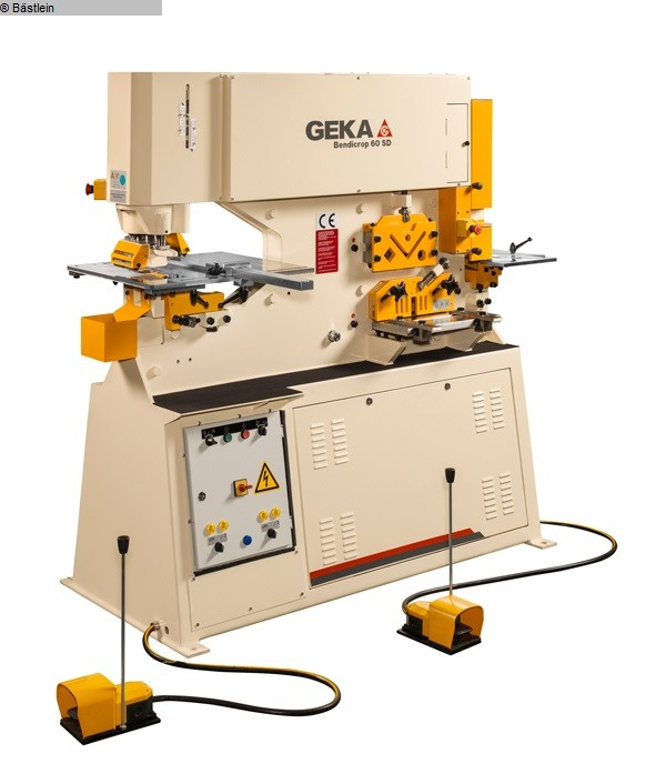 used Sheet metal working / shaeres / bending Section Steel Shear GEKA Bendicrop 60 S