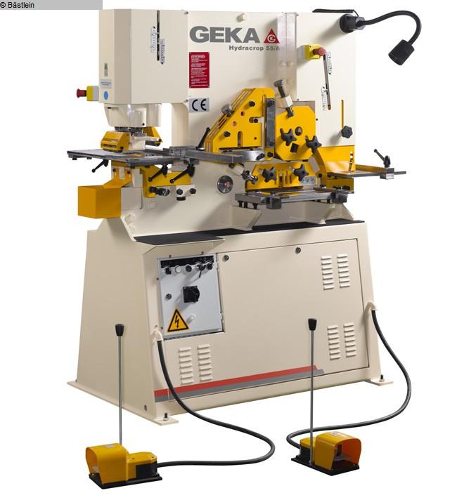 used Sheet metal working / shaeres / bending Section Steel Shear GEKA Hydracrop 55 S