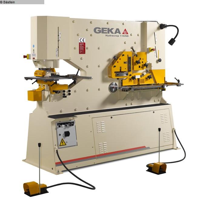 used Sheet metal working / shaeres / bending Section Steel Shear GEKA Hydracrop 110 S