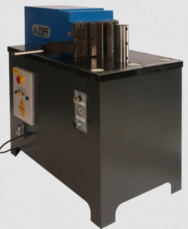 rabljeni strojevi za savijanje lima / dijelovi / stroj za savijanje savijanje horizontalni ZOPF T 400 Multiprogramm