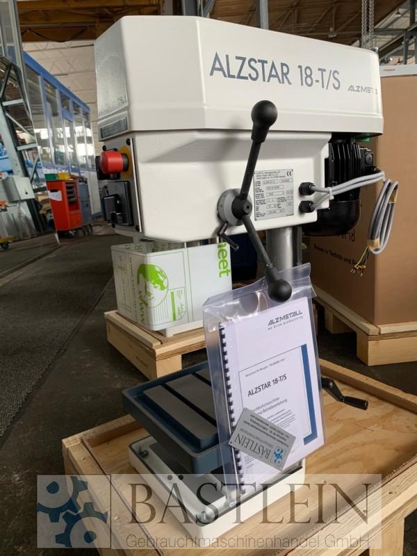 gebrauchte Bohrwerke / Bearbeitungszentren / Bohrmaschinen Tischbohrmaschine ALZMETALL Alzstar 18-T/S
