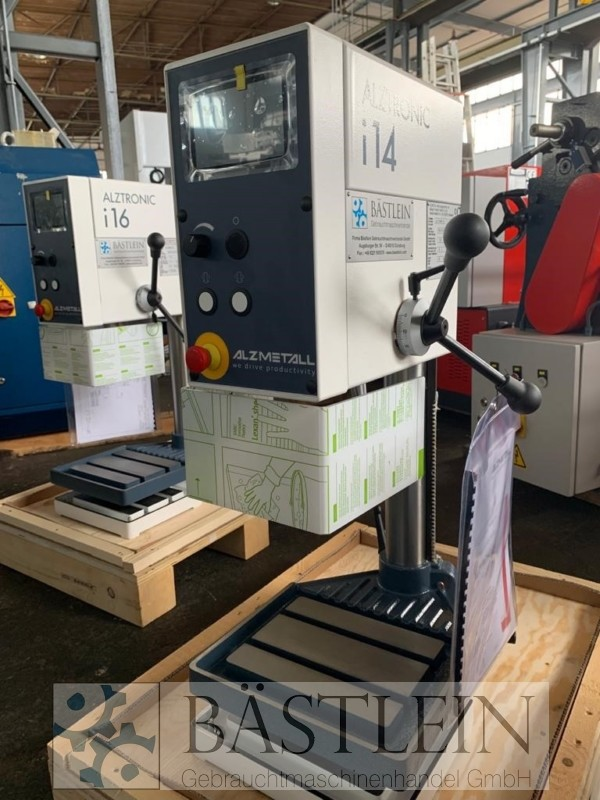 gebrauchte Bohrwerke / Bearbeitungszentren / Bohrmaschinen Tischbohrmaschine ALZMETALL ALZTRONIC i14