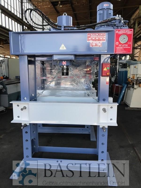 gebrauchte Pressen und Bördelmaschinen Werkstattpresse - hydraulisch HIDROLIKSAN HD 100
