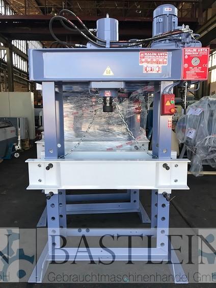 gebrauchte Pressen und Bördelmaschinen Werkstattpresse - hydraulisch HIDROLIKSAN HD 80