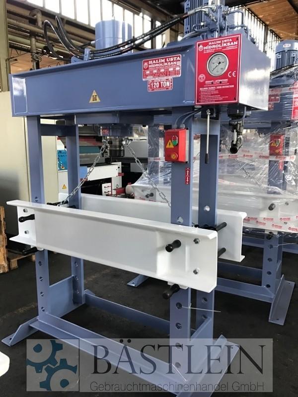 gebrauchte Pressen und Bördelmaschinen Werkstattpresse - hydraulisch HIDROLIKSAN HD 120