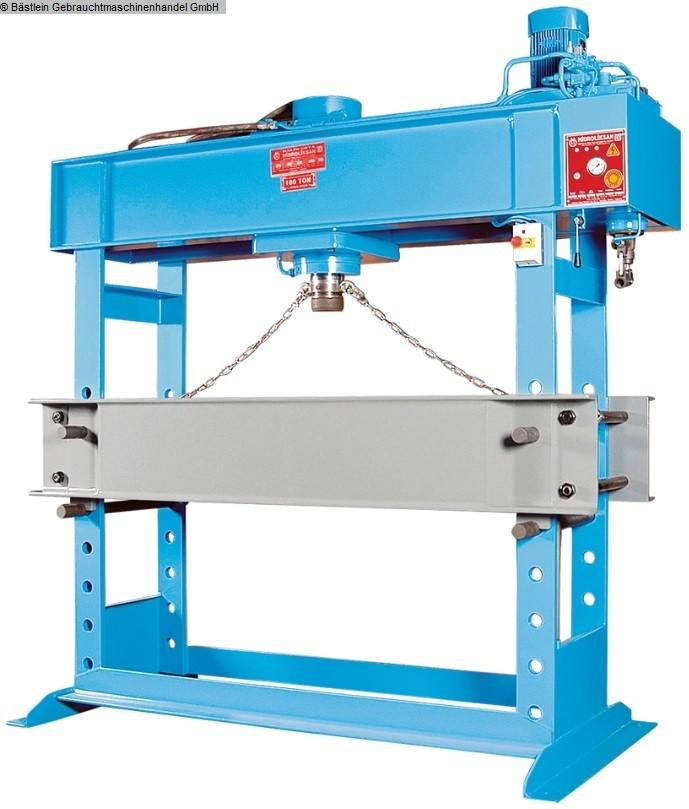 gebrauchte Pressen und Bördelmaschinen Werkstattpresse - hydraulisch HIDROLIKSAN HD 180