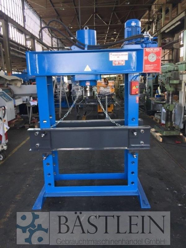 gebrauchte Pressen und Bördelmaschinen Werkstattpresse - hydraulisch HIDROLIKSAN HD 160