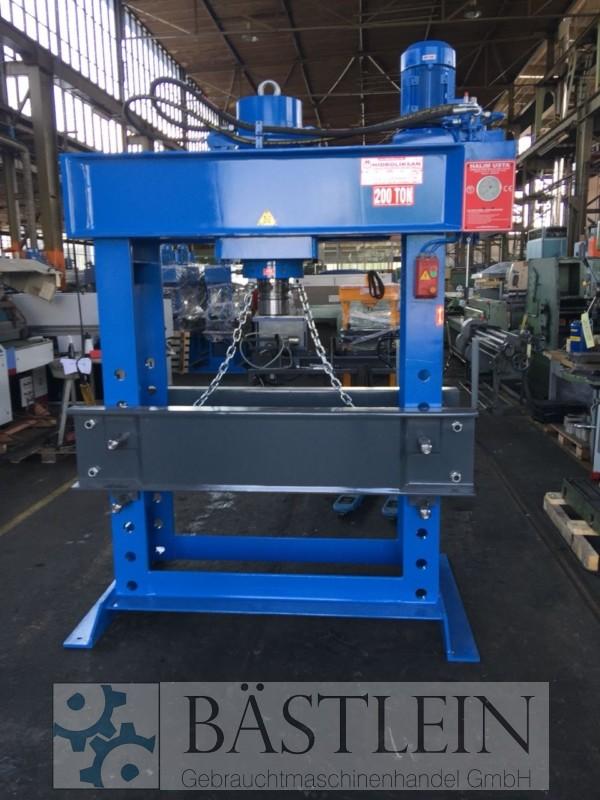 gebrauchte Pressen und Bördelmaschinen Werkstattpresse - hydraulisch HIDROLIKSAN HD 200