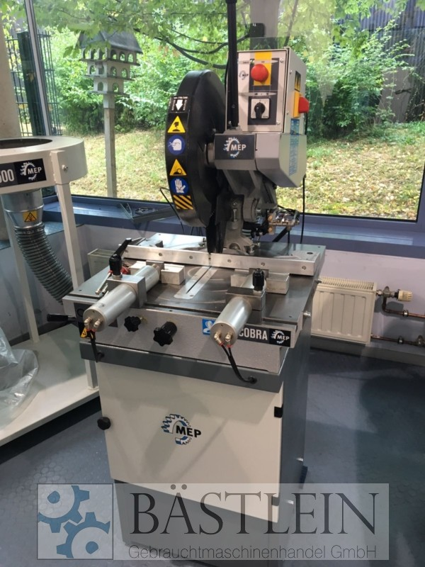 used Window production: PVC Mitre saw MEP COBRA 352 MA