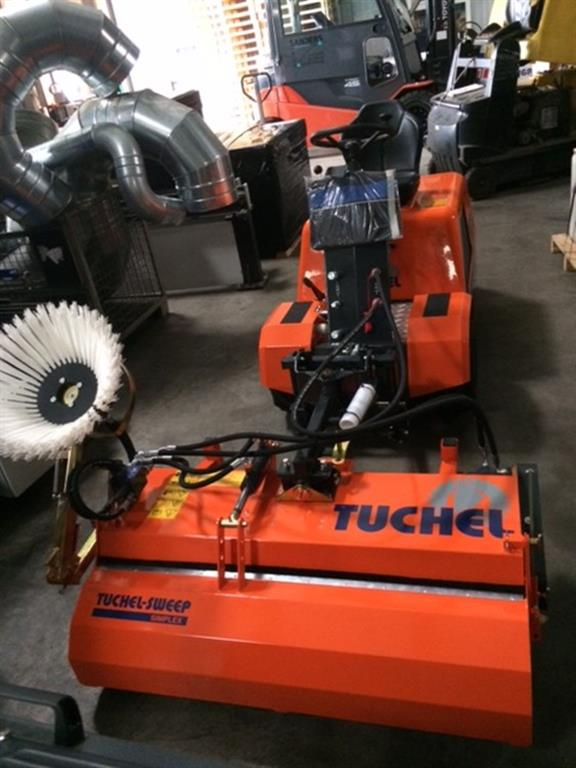 used Commercial Vehicles Sweeping Machine TUCHEL TT- Trio- Simplex
