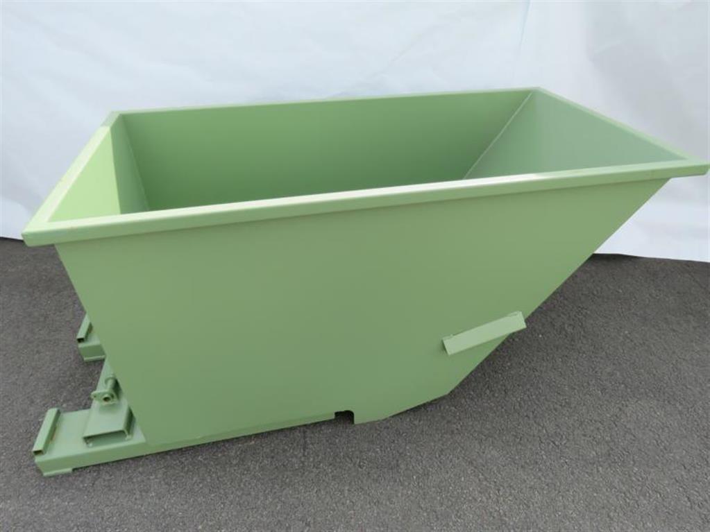 gebrauchte Förder- und Lagertechnik Container SANDERS Spänebehälter GRÜN RAL 6011