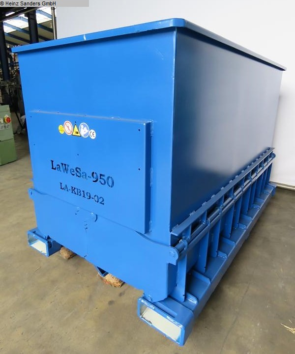 used Conveying and storage technology Container Langen Klappbodenbehaelter 950