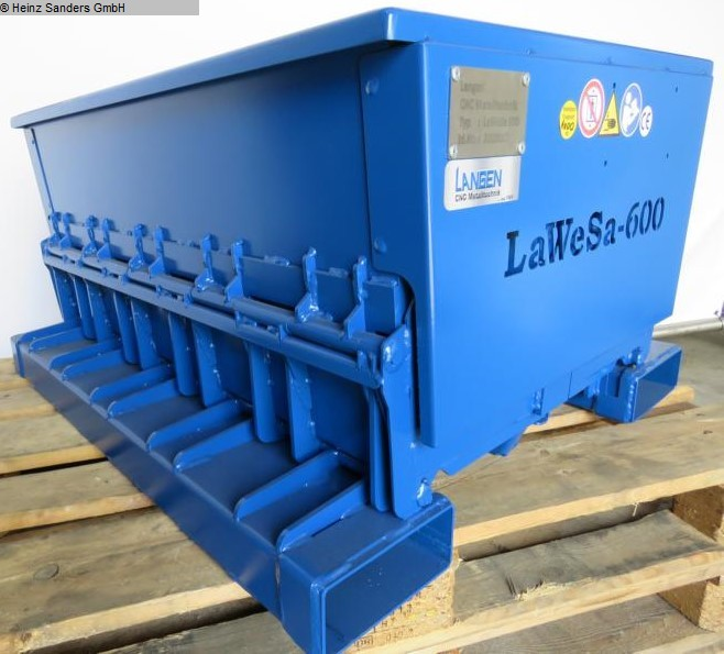 used Conveying and storage technology Container Langen Klappbodenbehaelter 600