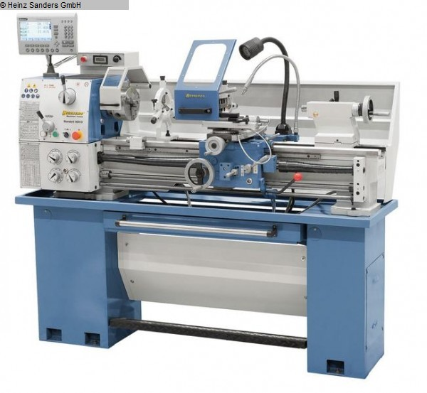 gebrauchte Drehmaschinen Drehmaschine-konventionell-elektronisch BERNARDO Standard 165 V-D