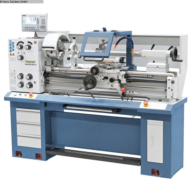 gebrauchte Drehmaschine-konventionell-elektronisch BERNARDO MASTER PRO 360
