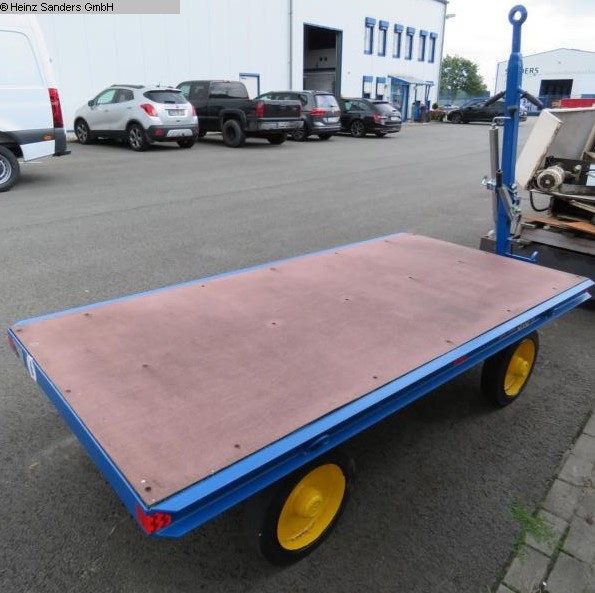 used Other attachments Heavy Goods Trailer AWI PDV 3,6 to.
