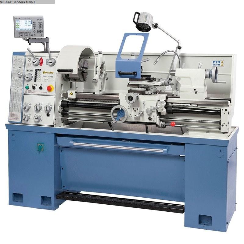 gebrauchte  Drehmaschine-konventionell-elektronisch BERNARDO MASTER 400 - 1000 Digital