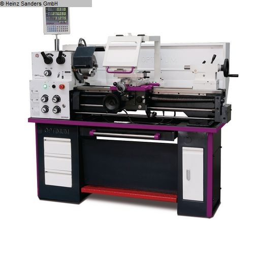 gebrauchte  Drehmaschine-konventionell-elektronisch OPTIMUM OPTIturn TH 3309D