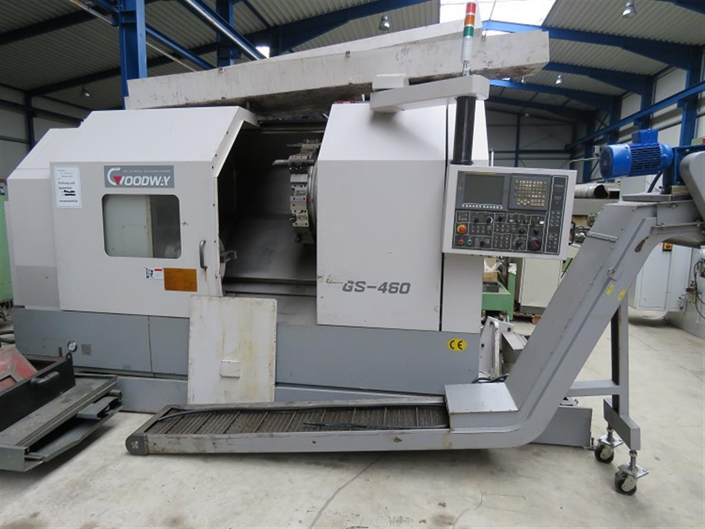 used  CNC Lathe GOODWAY GS 460