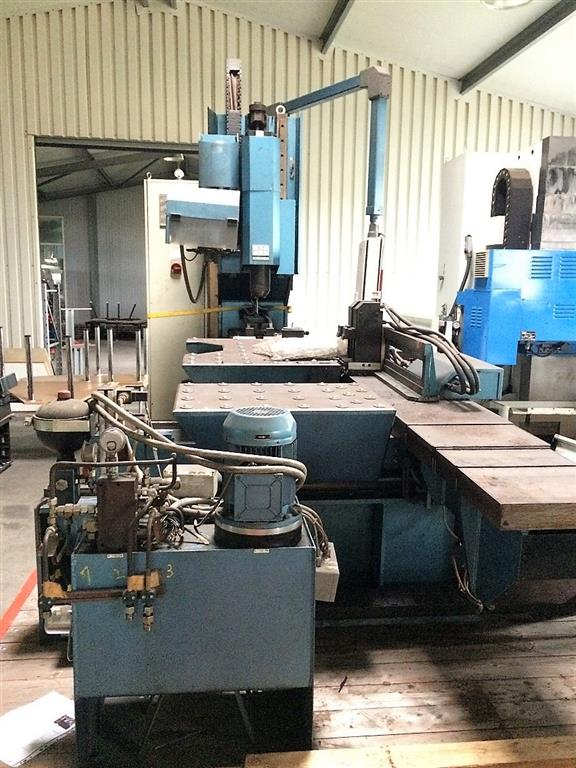used  Jig Boring Machine HMB PBM 1000/60