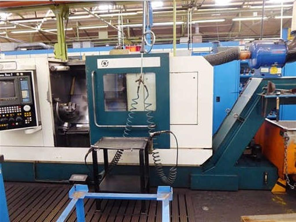 used  Lathe -  cycle-controlled MONFORTS RNC 4