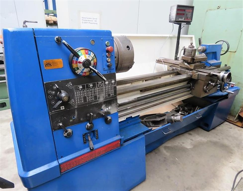used  lathe-conventional-electronic COLCHESTER Mastiff 1400