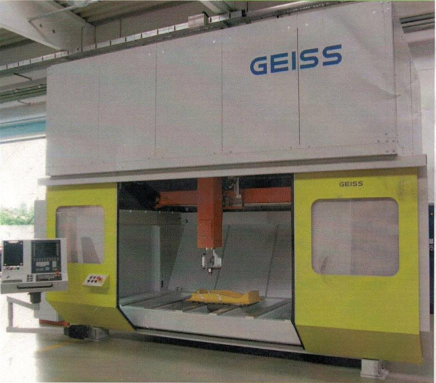 used Sheet metal working / shaeres / bending Laser Cutting Machine GEISS / Trumpf CNC 6.0 Solution Line EcoPlus