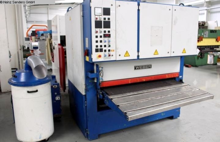 used Other Metal Processing Deburring Machine WEBER OFZ-MZ-1350