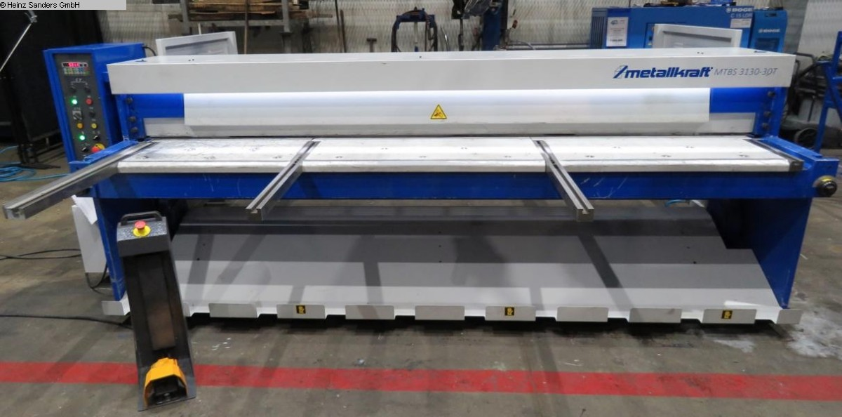 used Sheet metal working / shaeres / bending Plate Shear - Mechanical METALLKRAFT MTBS 3130-30T