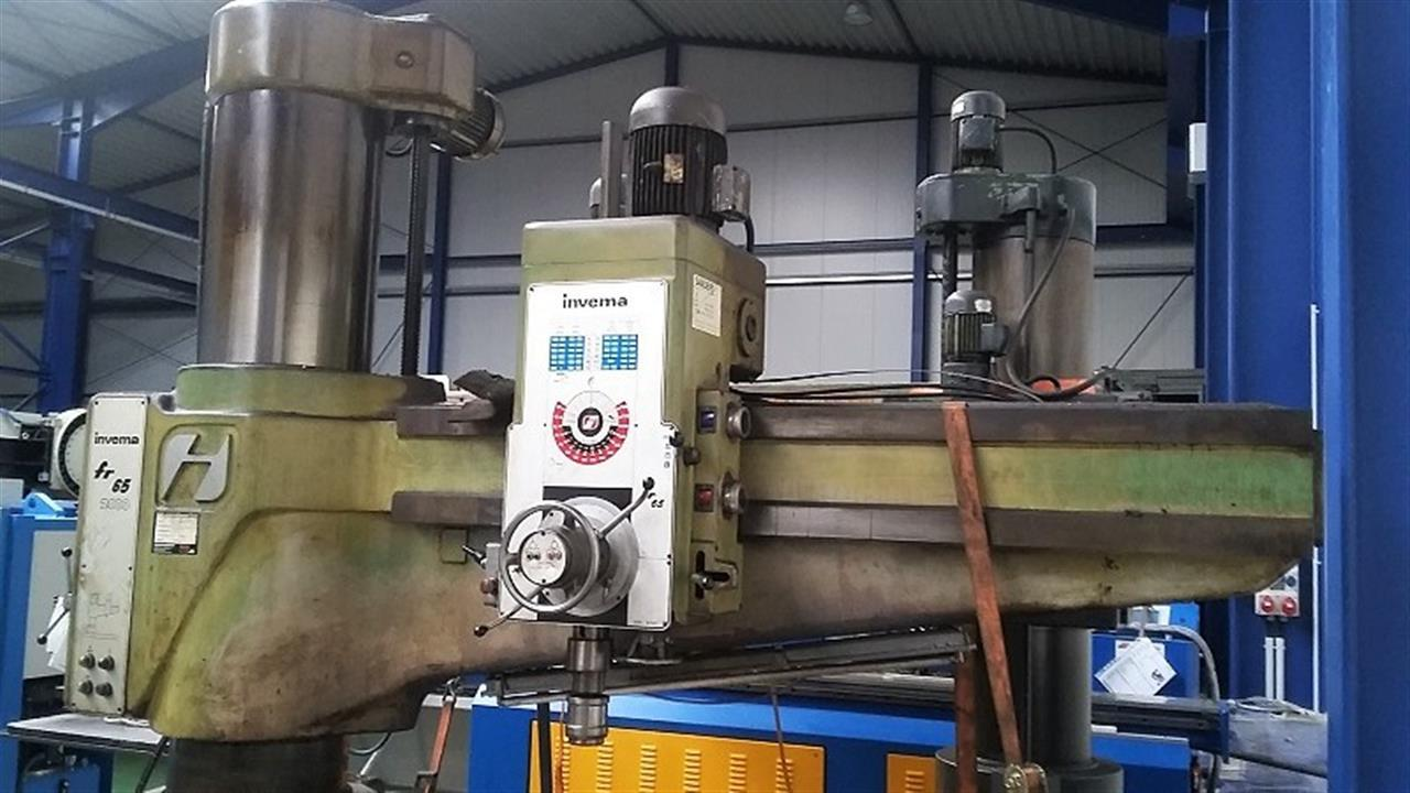 used Boring mills / Machining Centers / Drilling machines Radial Drilling Machine INVEMA FR 65 2000