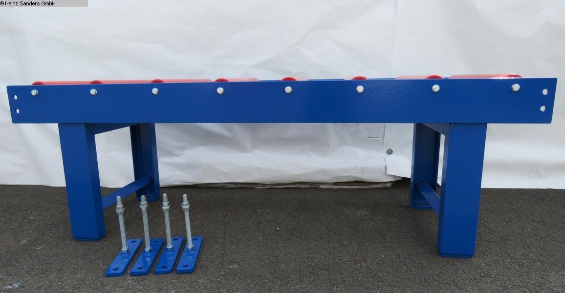gebrauchte Sägen Rollenbahnen / Anschlag-Systeme SANDERS 2000 x 600 mm