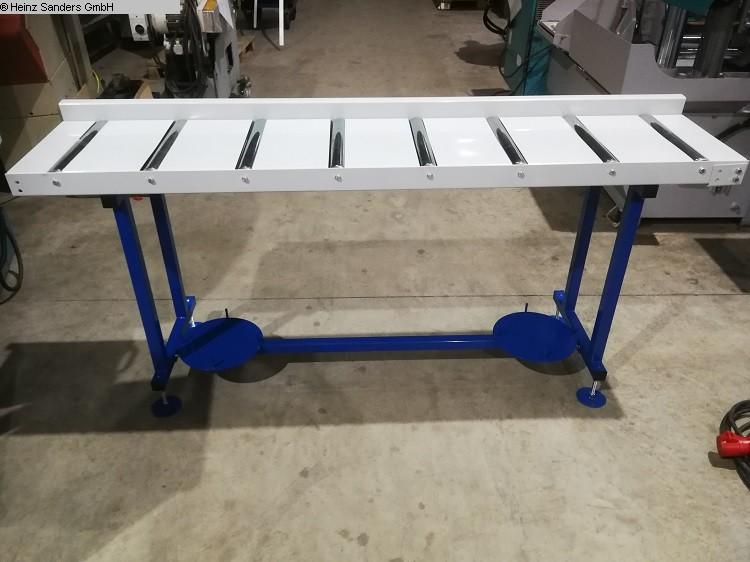 gebrauchte Sägen Rollenbahnen / Anschlag-Systeme SANDERS 2000 x 400 mm